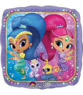 "18""  Shimmer and Shine Balloon"