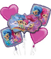 Bouquet Balloon Shimmer and Shine