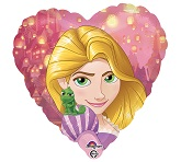 "18"" Rapunzel Heart Balloon"