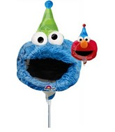 "11"" Airfill Only Sesame Street Fun Balloon"