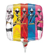 "9"" Airfill Only Power Rangers-Ninja Steel Balloon"