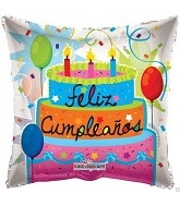 "18"" Only Feliz Cumpleanos Balloon"