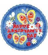 "18"" Happy Assistant's Day Butterfly Bloom"