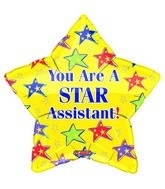 "18"" You&#39re a Star Assistant Yellow"