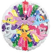 "18"" My Little Pony Gang Balloon"