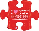 "42"" Love You To Pieces Puzzle"