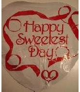 "36"" Happy Sweetest Day Ribbon"