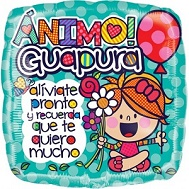 "18"" Animo Guapura Aliviate Pronto Balloon"