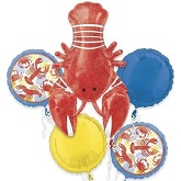 Bouquet Lobster Seafood Fest Balloon