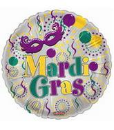 "18"" Mardi Gras Balloon Celebration"