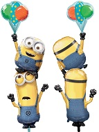 "61"" Multi-Balloon Minions Stacker Balloon"