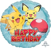 "18"" Pokémon Happy Birthday"