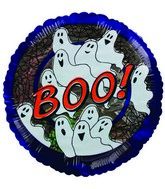 "4"" Airfill Boo Ghosts and Cobwebs"