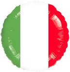 "18"" Italian Flag Balloon"