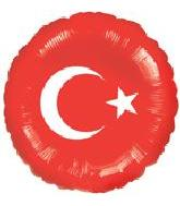 "18"" Turkish Flag"
