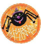 20&#39&#39 Happy Halloween Spider Balloon