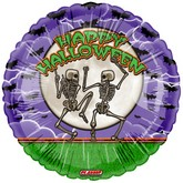 "18"" Happy Halloween Balloon Bones"