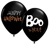 "11"" Boo To You Balloons (50 Ct)"