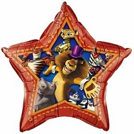"20"" Madagascar 3 Jumbo Licensed Mylar Balloon"