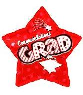 "18"" Congratulations Grad Red Star"