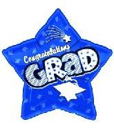 "18"" Congratulations Grad Star Blue"