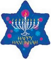 "18"" Happy Hanukkah Star"