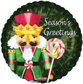 "18"" Nut Cracker Candy Season&#39s Greetings"