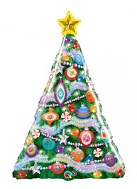 "39"" Decorated Christmas Tree Balloon"