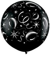 "36"" Sparkle Balloons-A-Round (2 Count)"