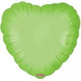 "18"" Classic Lime Green Heart"