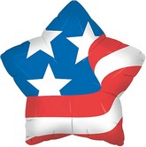 "18"" American Star Mylar Balloon"