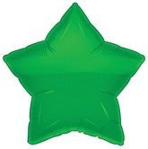 "18"" Classic Green Star Balloon"