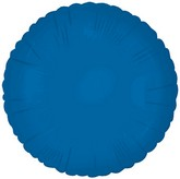 "18"" Classic Royal Blue Round Balloon"