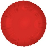 "18"" Classic Red Round Balloon"