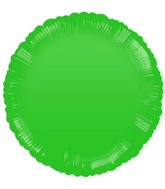 "18"" Classic Green Round Balloon"