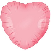 "18"" Classic Baby Pink Heart"