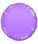 "18"" Frosted Lavender Round"