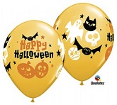 "11"" Happy Fun Icons Balloons (50 Ct)"