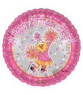 "18"" Birthday Cheer Suzy Zoo Balloon"
