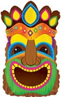 "22"" Crowned Tiki God Balloon"