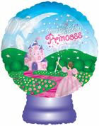 "22""Happy Birthday Princess Globe Packaged"
