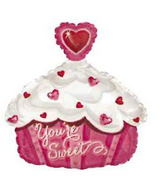 "9"" You&#39re Sweet Cupcake Balloon"