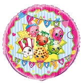 "18"" Packaged Shopkins Foil Balloon"