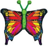 "38"" Colorful Butterfly Jumbo Balloon"