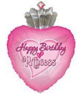 "30"" Happy Birthday Princess (B18)"