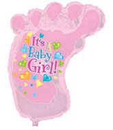 12&#39&#39 Airfill Baby Girl Foot M116