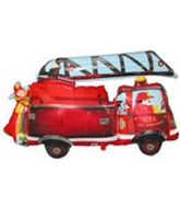 "36"" Fire Truck Balloon"