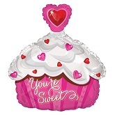 "18"" Your Sweet Cupcake Balloon"