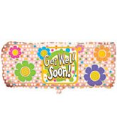 "38"" Jumbo Band-Aid Get Well Balloon"