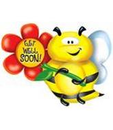 "36"" Get Well Soon Bee B118"